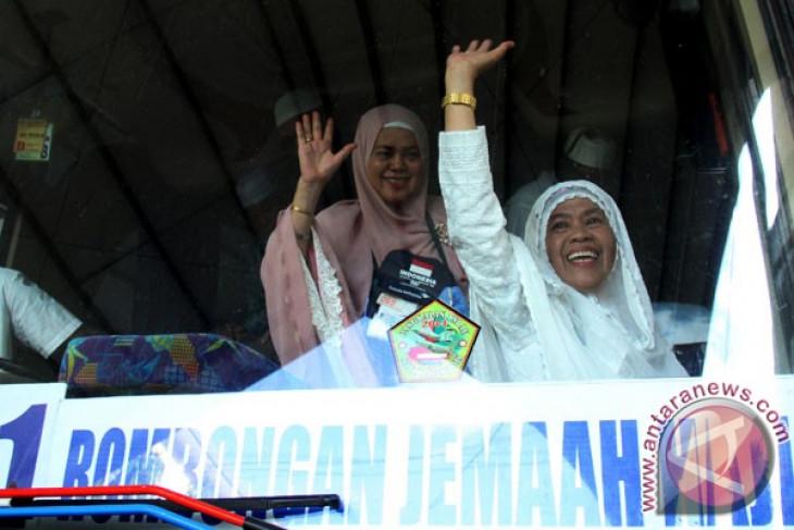 453 haji Sulawesi Tenggara dipulangkan dari Makassar hari ini