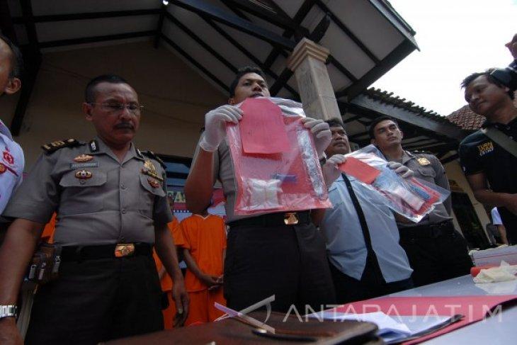 Polresta Mojokerto Tangkap Bandar Narkoba Jaringan Lapas