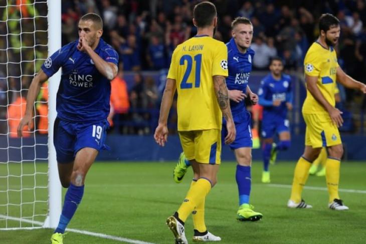 Slimani dipinjamkan Leicester ke Fenerbahce