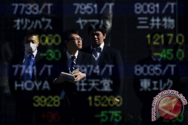 Bursa saham Tokyo dibuka hampir datar