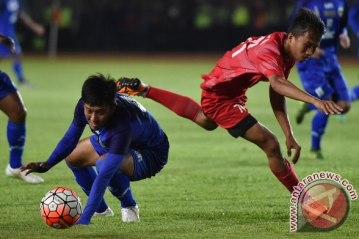 Final Sepak Bola Jabar vs Sulsel