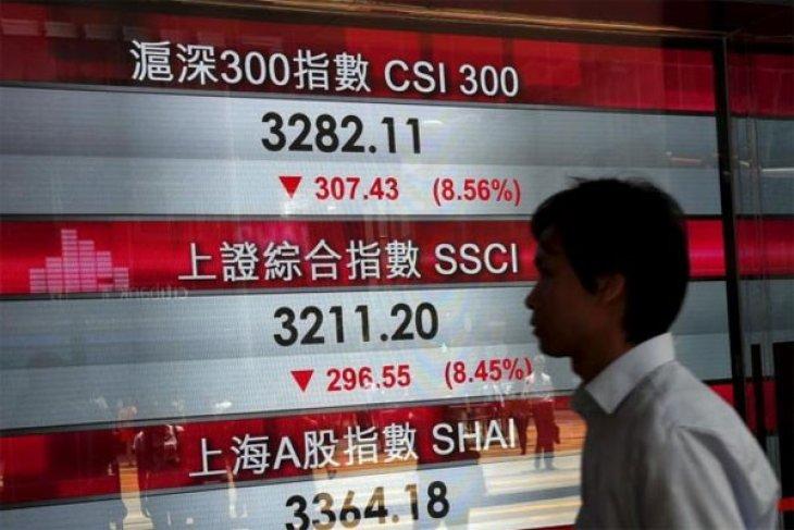 Bursa saham China bervariasi pada awal perdagangan