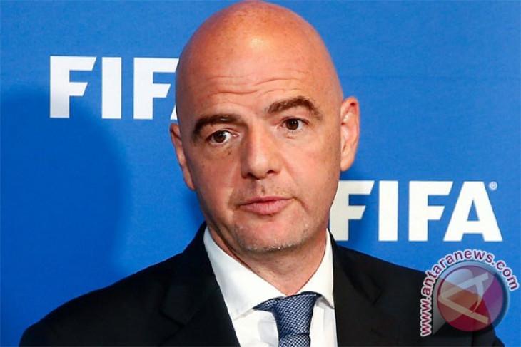 Presiden FIFA ucapkan selamat Bhayangkara juara Liga 1 Gojek Traveloka