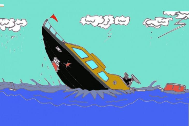 Kapal Kodam Jaya tenggelam di Kepulauan Seribu