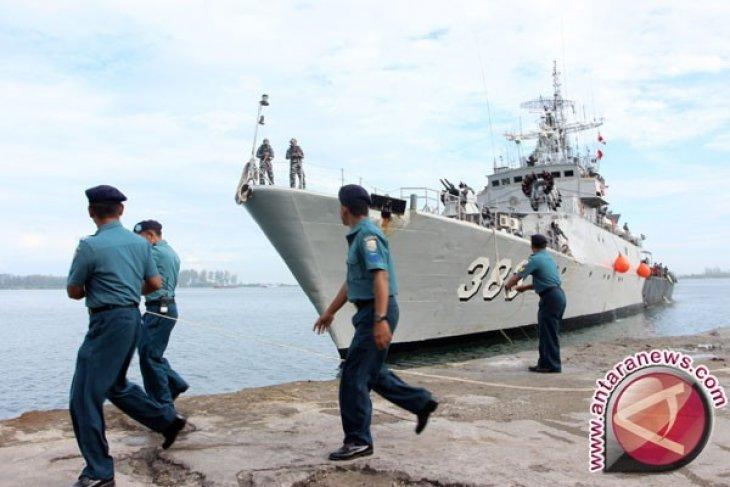 Dermaga untuk empat KRI di Lantamal Padang segera terwujud