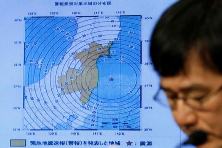 Gempa kembali guncang Jepang