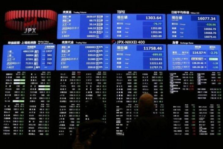 Bursa saham Tokyo ditutup turun 0,35 persen