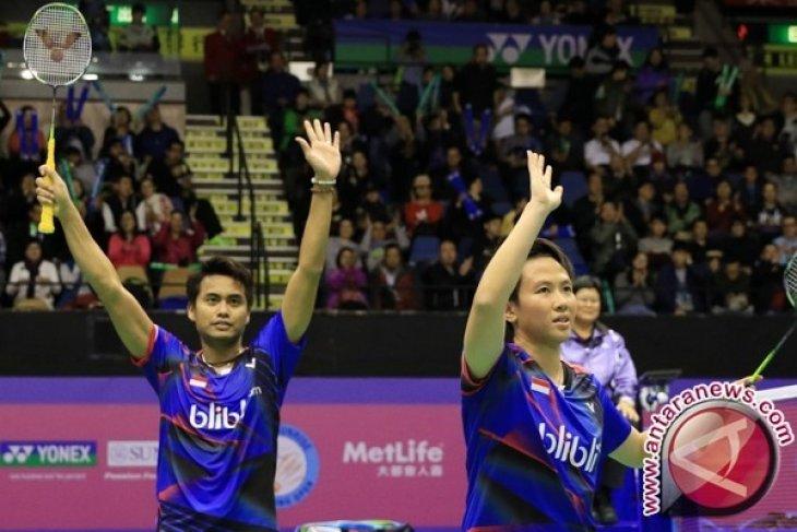 Tontowi Ahmad/Liliyana Natsir tembus semifinal Indonesia Terbuka 2018