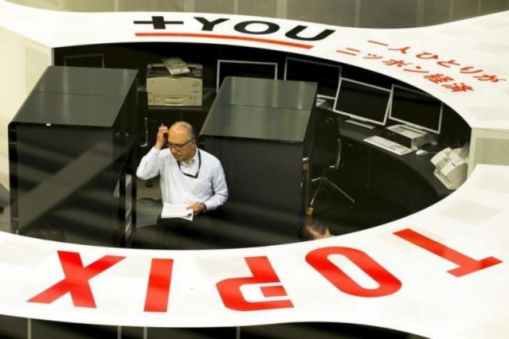 Indeks Nikkei-225 bursa Tokyo melemah 100 poin