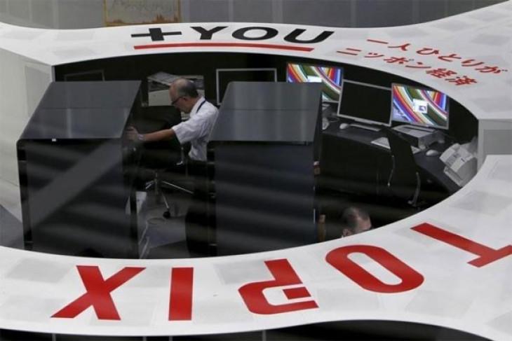 Bursa saham Tokyo dibuka naik ditopang pelemahan yen