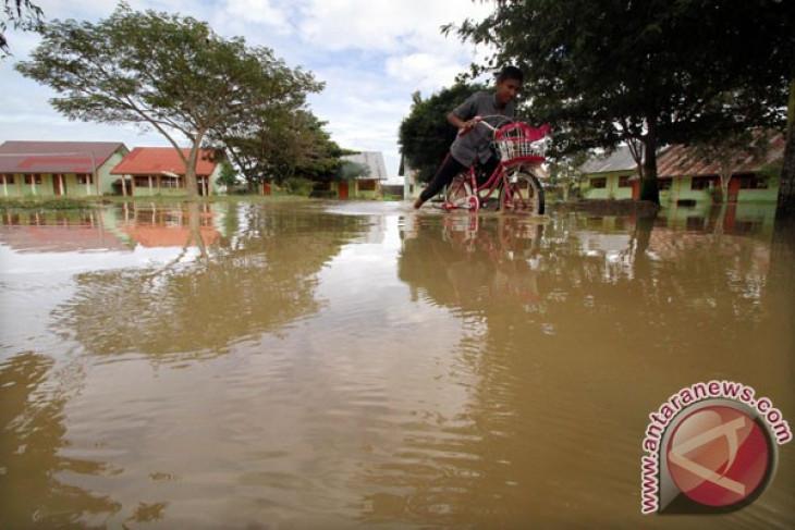 Banjir Bandang Aceh Besar Sempat Rendam Rumah Warga