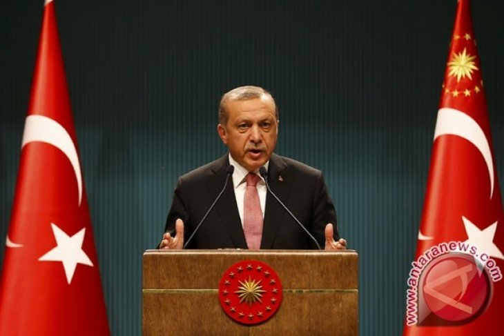 Presiden Turki berikrar akan terus hancurkan pelaku teror