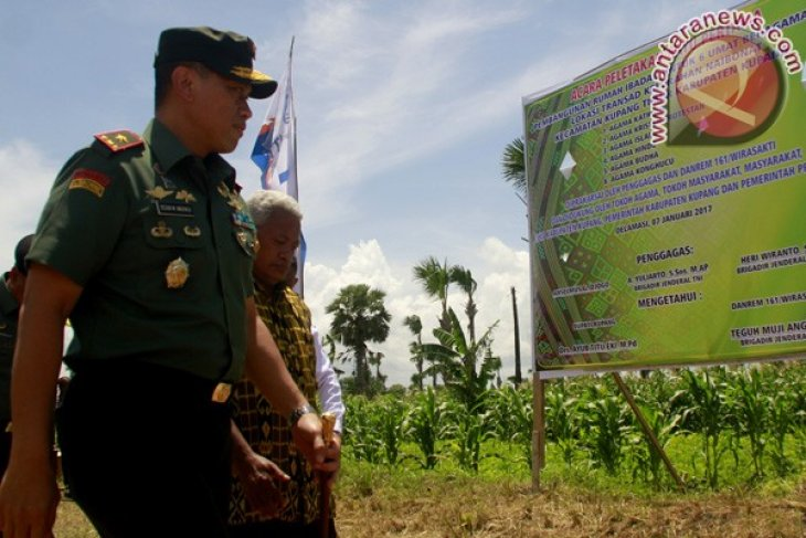 Houses of worship of six religious communities built in Kupang