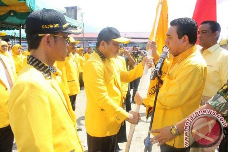 Merah Sakti Resmi dilantik Ketua Golkar Subulussalam