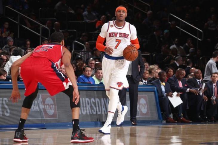 Ringkasan pertandingan NBA, rekor baru Anthony untuk Knicks