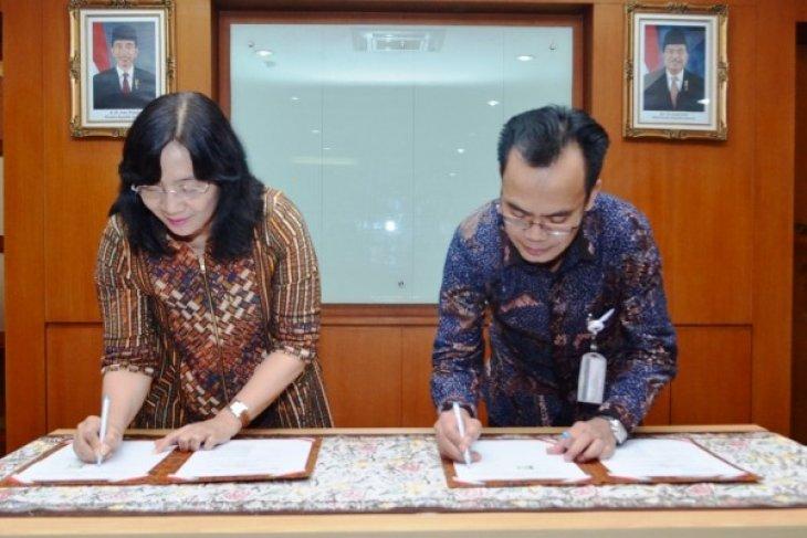 Tingkatkan ekspor produk IKM, Kemenperin dan LPEI teken MoU
