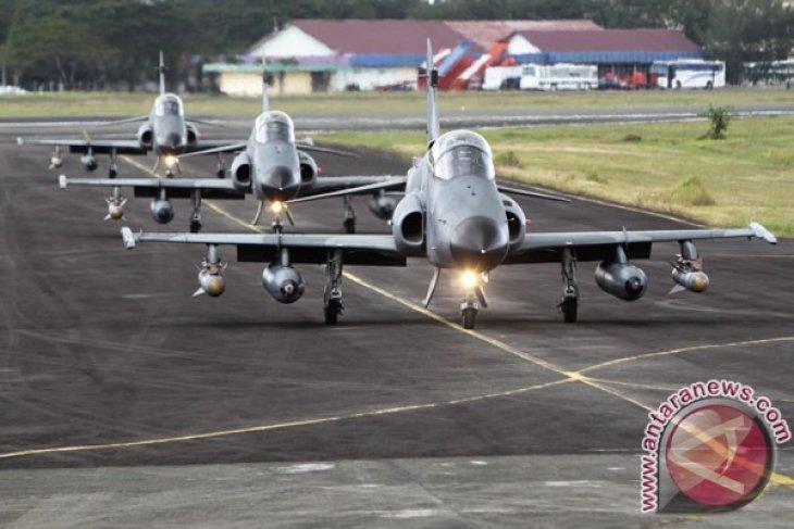 Skuadron Udara 12 latihan tempur di Aceh