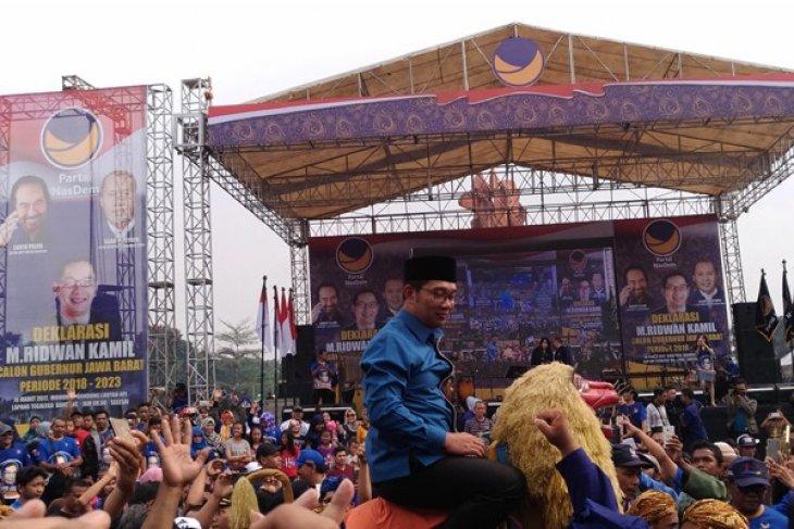 NasDem usung Ridwan Kamil jadi cagub Jawa Barat