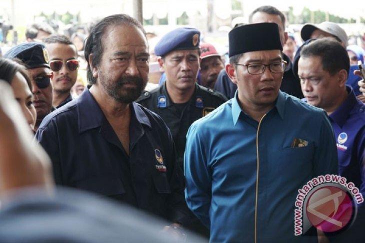 Surya Paloh-Ridwan Kamil sepakati tiga syarat