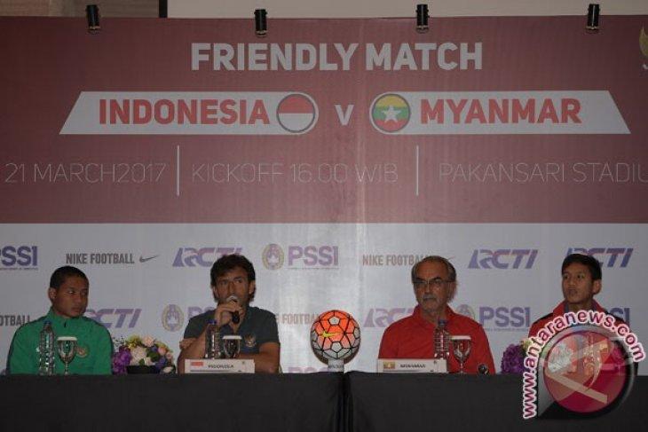 Laga Persahabatan Indonesia - Myanmar