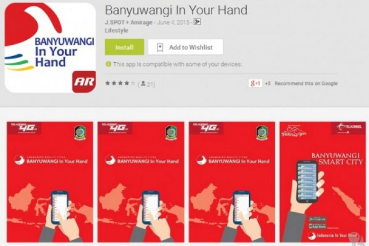 Banyuwangi in Your Hand app launched