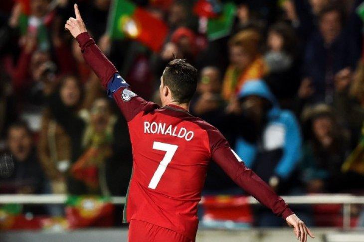 Ronaldo tak cemas meski Portugal ditahan seri Meksiko