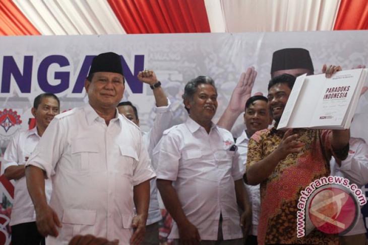 KSPI dukung Prabowo capres 2019