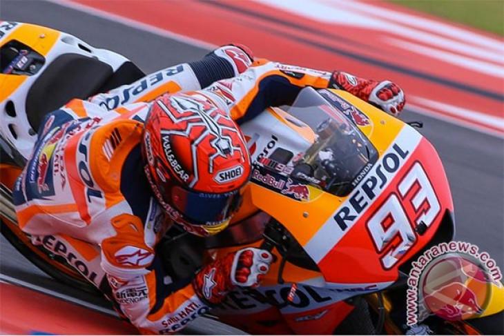 Marquez start terdepan MotoGP Valencia, Dovizioso kesembilan