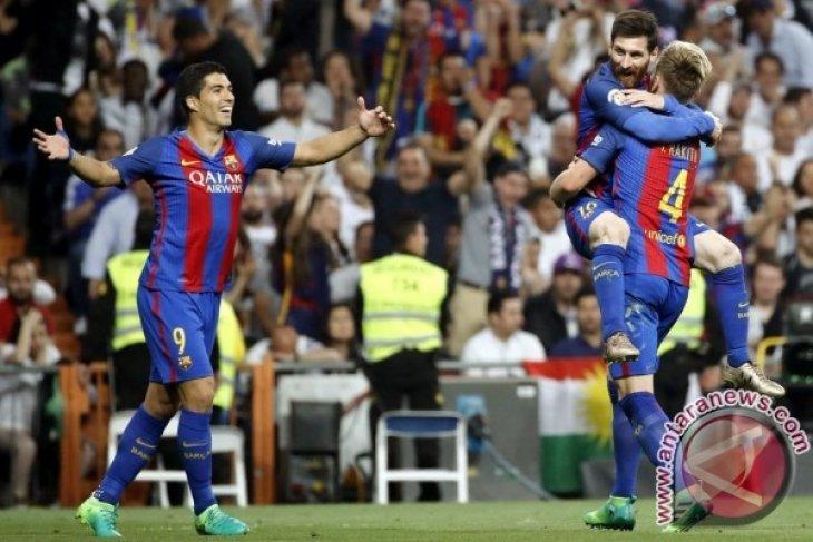Klasemen La Liga Setelah El Clasico, Barcelona Geser Real Madrid