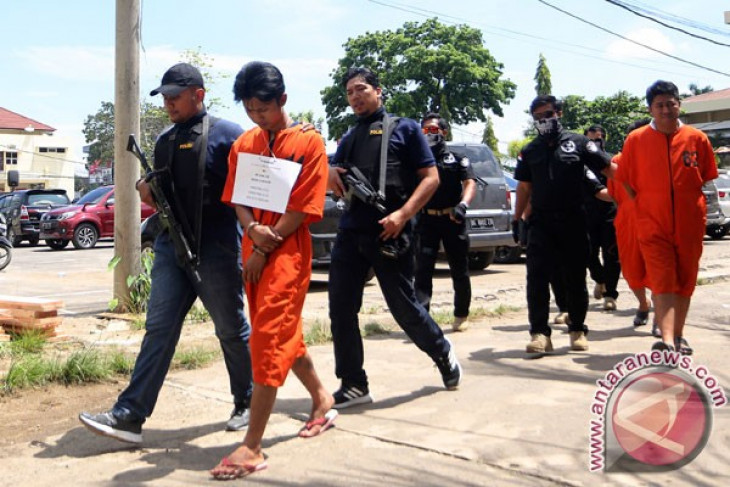 Polisi ringkus dua bandar narkotika di Tanjungpura