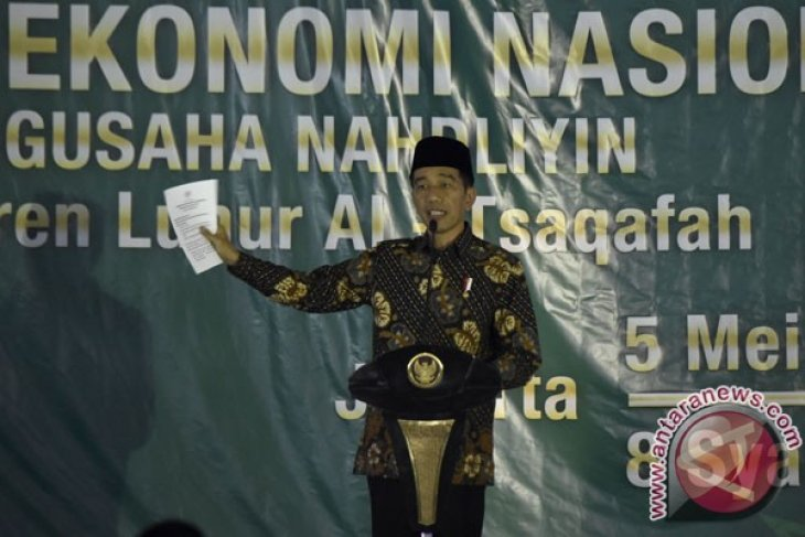 Presiden Jokowi: kemitraan usaha harus dikonkretkan