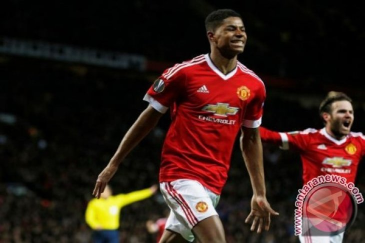 Solskjaer: Rashford bisa sukses seperti Rooney dan Ronaldo