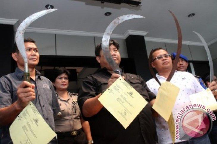 Polisi Bekasi jaring 16 pelajar nyaris tawuran