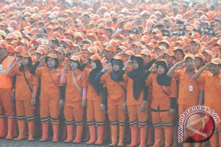 Pasukan Oranye Tetap Siaga Saat Lebaran
