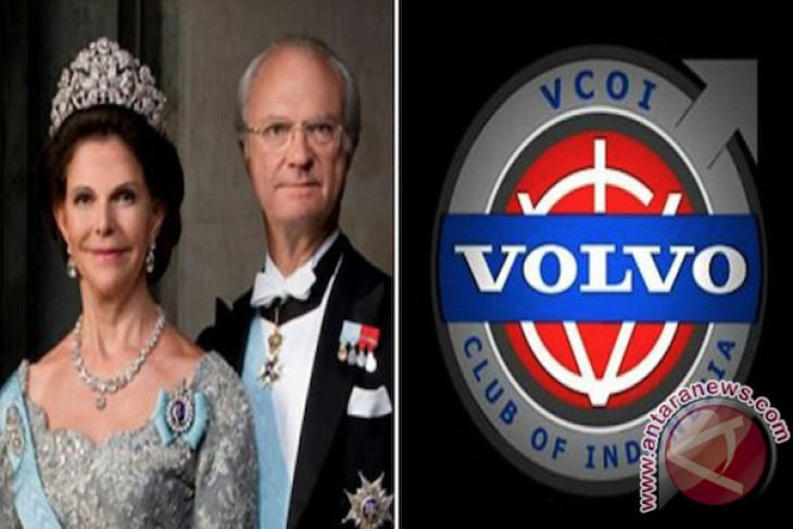 Swedish monarch meets Volvo community at old city