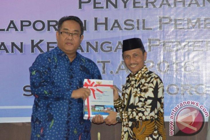 Pemkab Gorontalo kembali terima opini WTP dari BPK