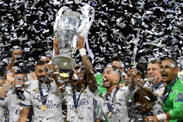 Daftar tim lolos dan klasemen akhir Liga Champions