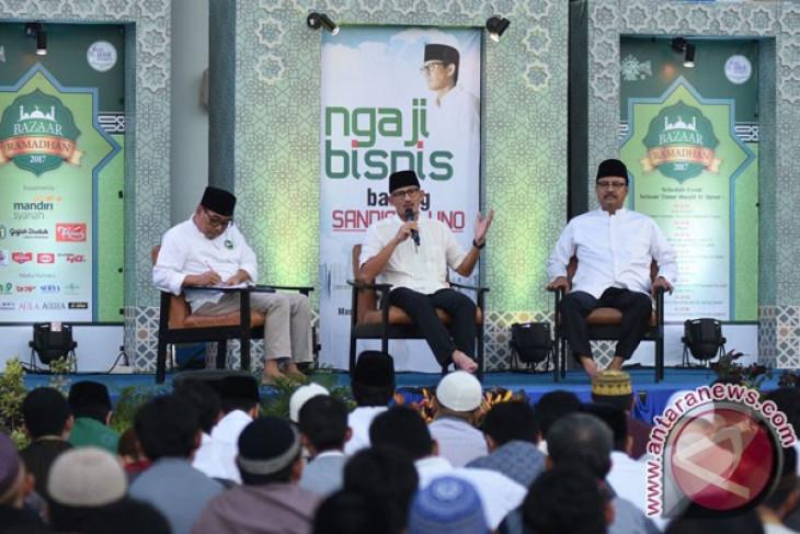 Sandiaga Uno sarankan pengusaha tak terjun politik