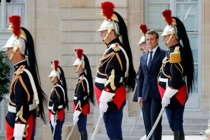 Macron ingin wujudkan undang-undang anti-berita palsu tahun ini