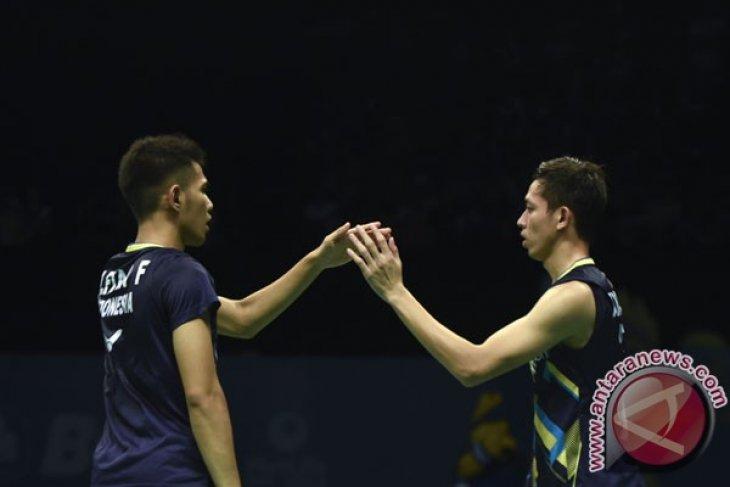 Fajar/Rian lanjutkan hasil positif di Malaysia Masters