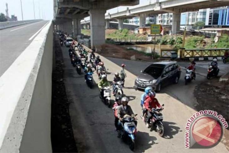 Jalan Kalimalang Bekasi diberlakukan satu arah mulai Senin