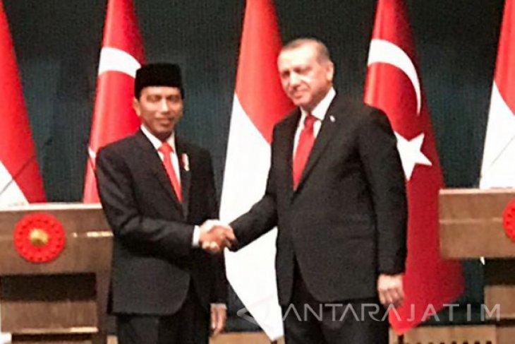Presiden Erdogan ucapkan selamat ke Jokowi