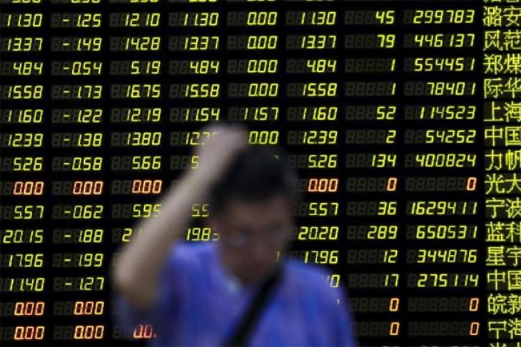 Bursa saham China ditutup bervariasi