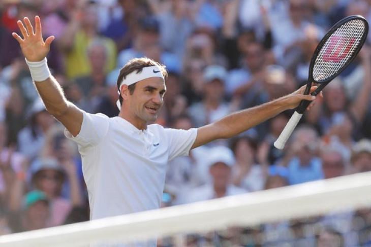 Federer ke putaran tiga turnamen Indian Wells