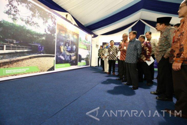 Wapres JK Resmikan Pembangunan SPAM Umbulan (Video)