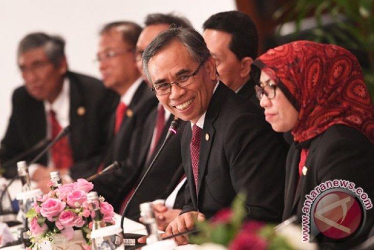 Dewan Komisaris OJK temui Presiden Jokowi