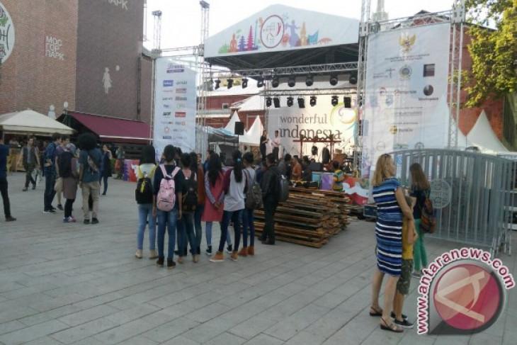 Ada apa saja di Festival Indonesia di Moskow