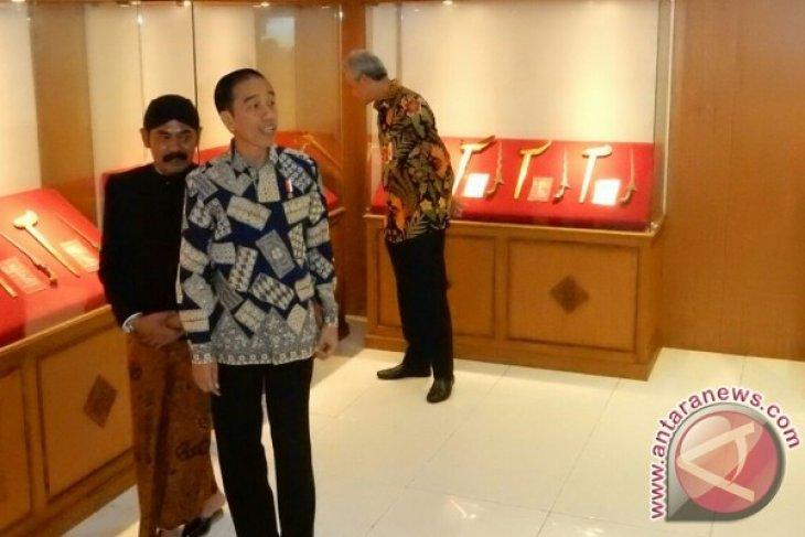 Jokowi berniat titipkan koleksi keris di museum