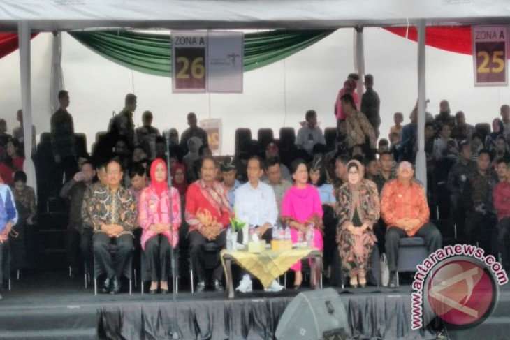 Jokowi: JFC tak kalah dengan karnaval internasional