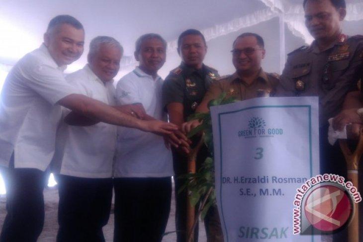 50 Hektare Lahan Bekas Tambang Timah Direklamasi